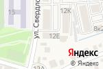Схема проезда до компании Курортюгстрой в Железноводске