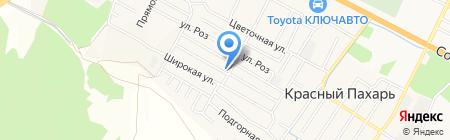 Берег надежды на карте Анджиевского