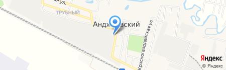 Сен-Гобен Кавминстекло на карте Анджиевского