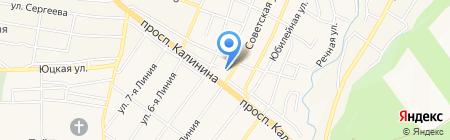 Основная общеобразовательная школа №21 на карте Горячеводского