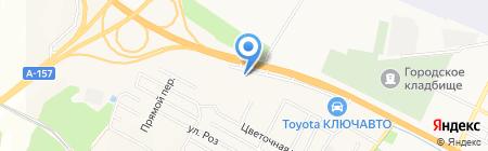 ДримКар на карте Анджиевского