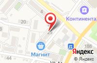 Схема проезда до компании Магнит в Железноводске