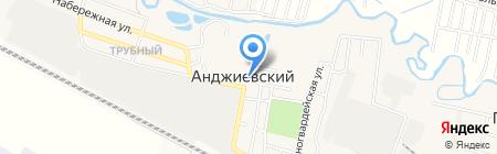 Библиотека на карте Анджиевского