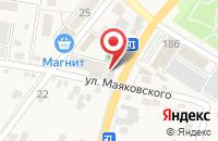 Схема проезда до компании Городок в Железноводске