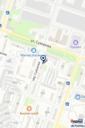 ПРОМТОВАРНЫЙ МАГАЗИН ОКТЯБРЬСКИЙ на карте Павлово