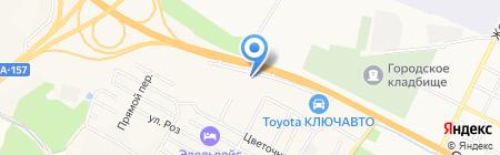 НДК Моторс КМВ на карте Анджиевского