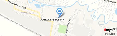 Администрация п.г.т. Анджиевский на карте Анджиевского