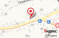 Схема проезда до компании Магия красоты в Горячеводском