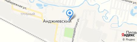 Сбербанк России на карте Анджиевского