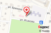 Схема проезда до компании Врачебная амбулатория в Анджиевском