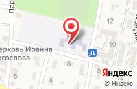 Схема проезда до компании Детский сад №9 в Анджиевском