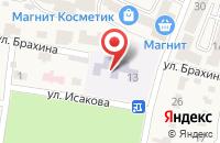 Схема проезда до компании Детский сад №10 в Анджиевском