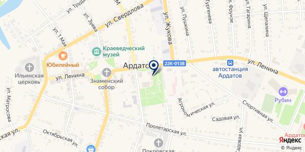 ГУ ЗАКАЗНИК МУХТОЛОВСКИЙ на карте Ардатове