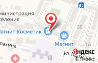 Схема проезда до компании Магнит в Анджиевском