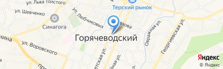 ДЮСШОР №2 на карте Горячеводского