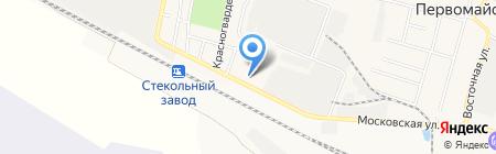 Средняя общеобразовательная школа №4 на карте Анджиевского
