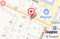 Схема проезда до компании Библиотека №4 в Горячеводском