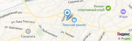 Библиотека №4 на карте Горячеводского