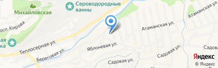 М-стиль на карте Горячеводского