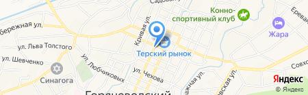 Irbis на карте Горячеводского