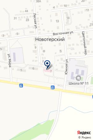 Врачебная амбулатория на карте Новотерского