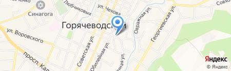Сохранно Безопасно Спокойно на карте Горячеводского