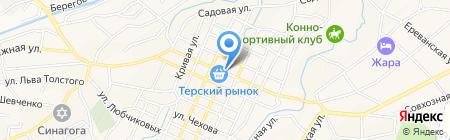 Детская городская поликлиника на карте Горячеводского