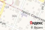 Схема проезда до компании Белочка в Горячеводском