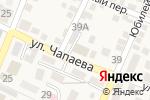 Схема проезда до компании Пожарно-спасательная часть №16 в Горячеводском