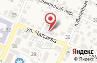 Схема проезда до компании Пожарная часть №16 в Горячеводском