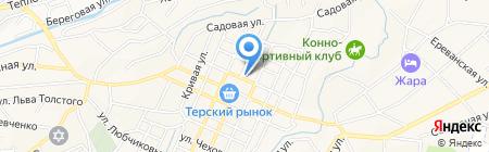 Пожарная часть №16 на карте Горячеводского