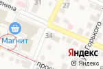 Схема проезда до компании Магазин автозапчастей в Горячеводском