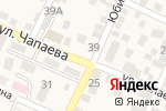 Схема проезда до компании Продуктовый магазин в Горячеводском
