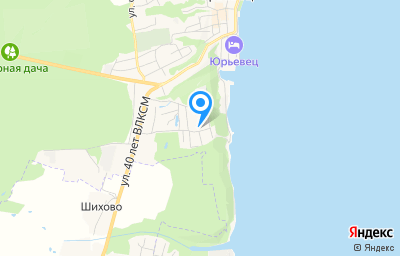 Местоположение на карте пункта техосмотра по адресу Ивановская обл, г Юрьевец, ул Урицкого, д 9