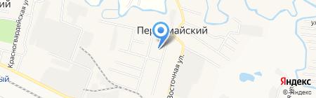 Администрация Первомайского сельсовета на карте Анджиевского