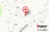 Схема проезда до компании АВС в Горячеводском