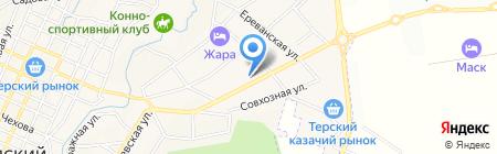 Автосервис на карте Горячеводского