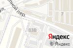Схема проезда до компании Бетта в Горячеводском