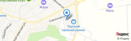 Торгово-производственная компания на карте Горячеводского