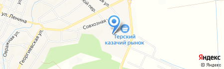 Телемагия на карте Горячеводского