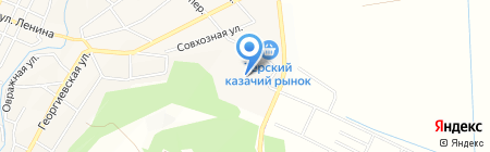 Бетта на карте Горячеводского