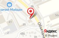 Схема проезда до компании KolliPlast в Горячеводском