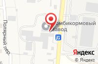 Схема проезда до компании Минводский комбикормовый завод в поселке Загорский