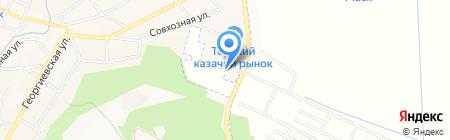 М-Сервис на карте Горячеводского