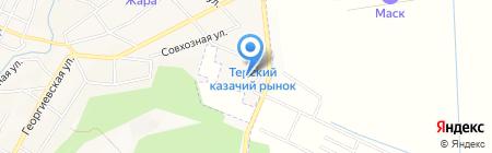 Delta на карте Горячеводского