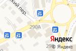 Схема проезда до компании Kookla в Горячеводском