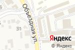 Схема проезда до компании Магазин хозтоваров в Горячеводском