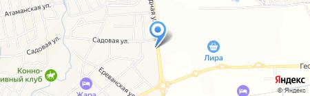TM Opium на карте Горячеводского