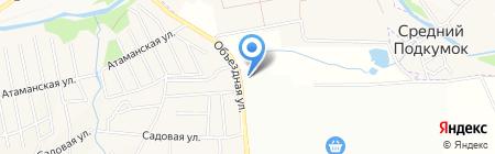 Катрина на карте Горячеводского