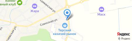 123 на карте Горячеводского